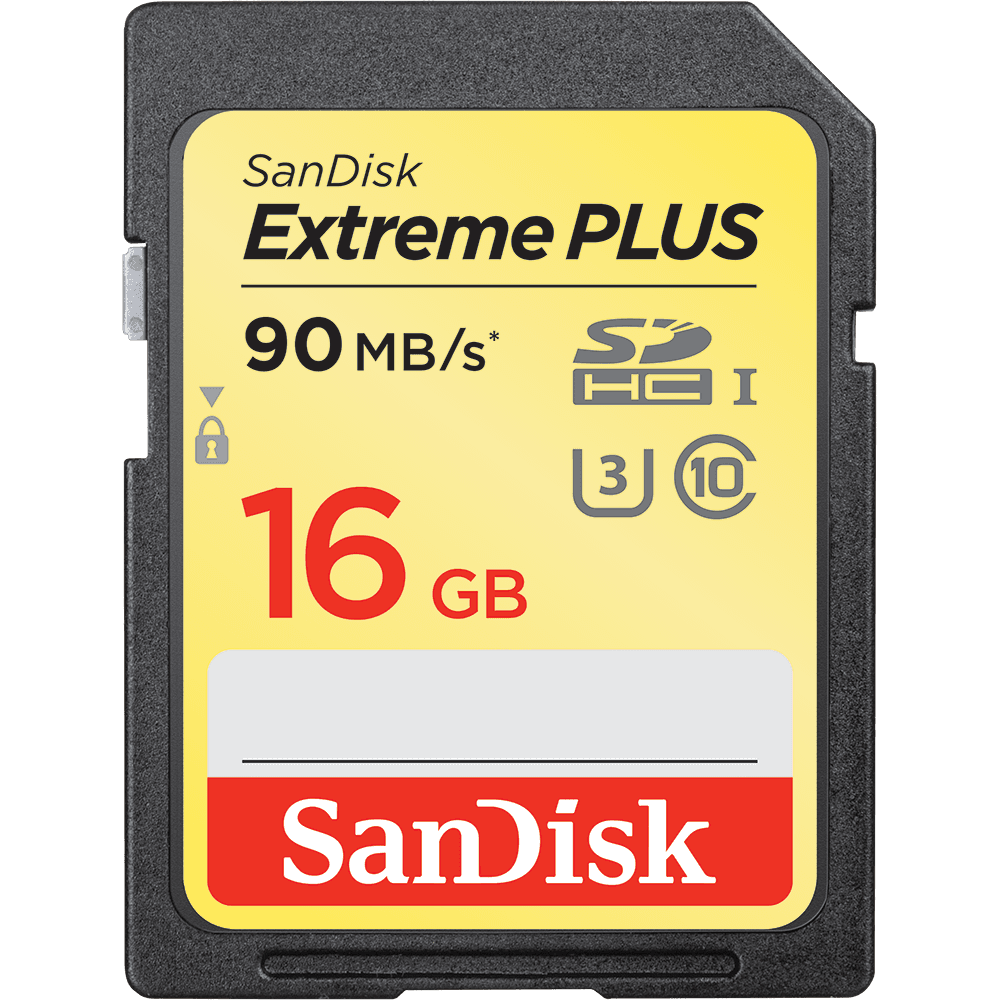 Carte SD UHS-I SanDisk Extreme PLUS