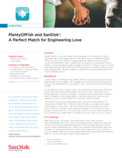 PlentyOfFish and SanDisk: A Perfect Match for Engineering Love